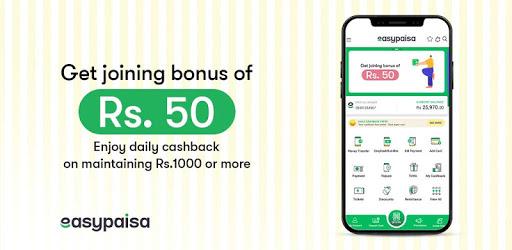 Easypaisa - Mobile Load, Send Money & Pay Bills apk