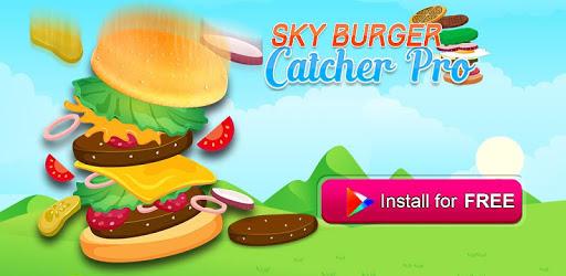 Burger Food Factory-Sky Burger Catcher Pro apk