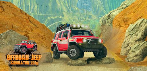 Offroad Jeep Simulator 2019: Mountain Drive 3d apk