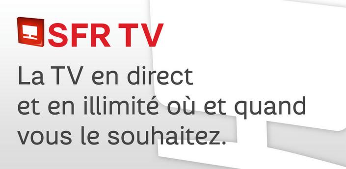 SFR TV pour tablettes apk