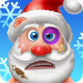 Christmas Crazy Santa Doctor Icon