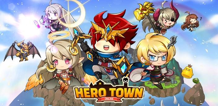 Hero Town Online : 2D MMORPG apk