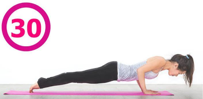 Plank workout for women free apk