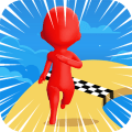 Super Race 3D Running Game Icon