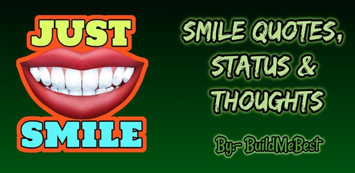 Smile Quotes in English - Best Thoughts & Status apk