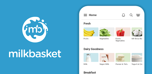 Milkbasket - Hasslefree Daily Grocery Delivery apk