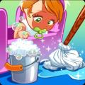 Baby Doll House Cleaning Icon