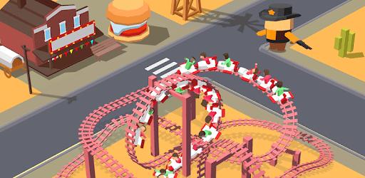 Idle Roller Coaster apk