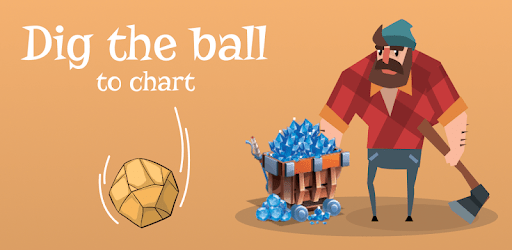 Dig The Ball to Cart – Lumber Jack Idle Clicker apk