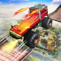 Ramp stunt racing truck - Monster Truck Icon