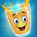 Ice in the Glass - Draw and fill the glass Icon