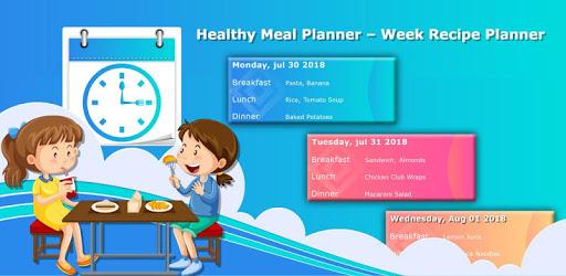 Healthy Meal Planner – Week Recipe Planner apk