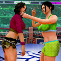 Grand Robot Ring Fighting :Women Wrestling Games Icon