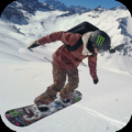 Skiing and Snowboarding 4K LWP Icon