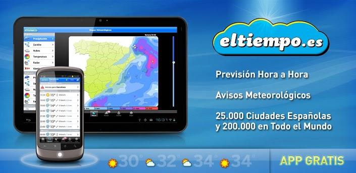 Weather by eltiempo.es apk