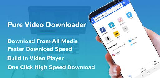 Pure All Video Downloader - Free Video downloader apk