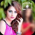 DSLR Image Blur Background , Bokeh Effects Photo Icon