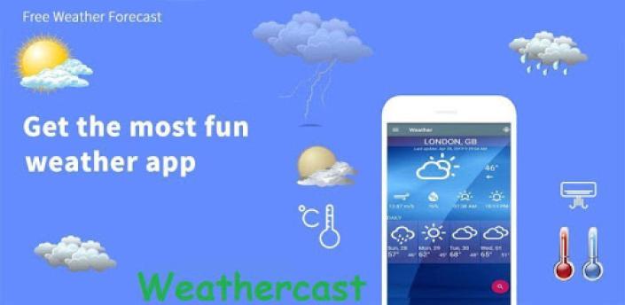 Weathercast - Live Weather Forecast & local Radar apk