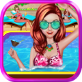 Summer Girl - Crazy Pool Party Icon