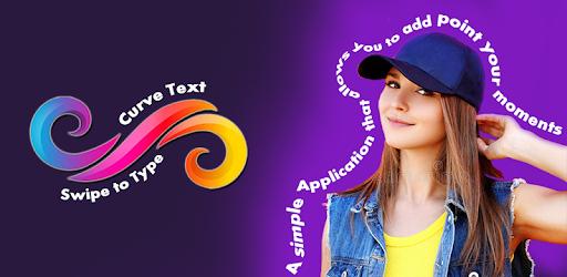 Curve Text - Swipe to Type apk