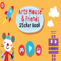 Arty Mouse Sticker Book Icon