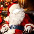 Santa Claus Photo Editor Icon