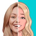 Mirror FaceStar: Cartoon Decide Wheel Icon