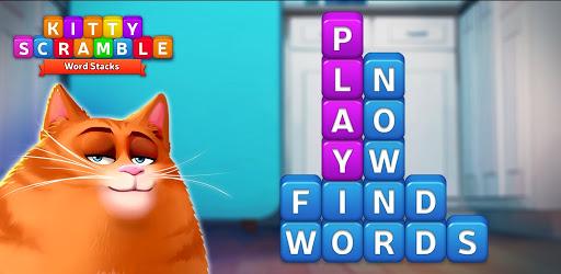 🔥Kitty Scramble: Word Stacks apk