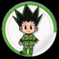 HunterXHunter Stickers Icon