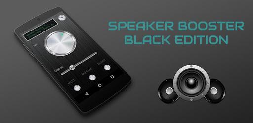 Speaker Booster Black Edition apk
