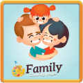 Family Coloring Pages Icon