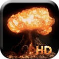 Nuclear Explosion Live Wallpap Icon