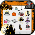 Scary Halloween Emoji Stickers Icon