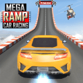 Mega Ramp Car Stunts Racing : Impossible Tracks 3D Icon
