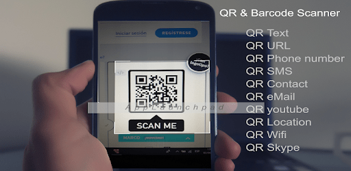 QR Reader and Barcode Scanner for samsung galaxy apk
