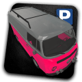 Military Van Car Parking Icon