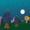 Magic Trees - magical relaxing Icon