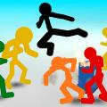 Stickman Street Fighting Icon