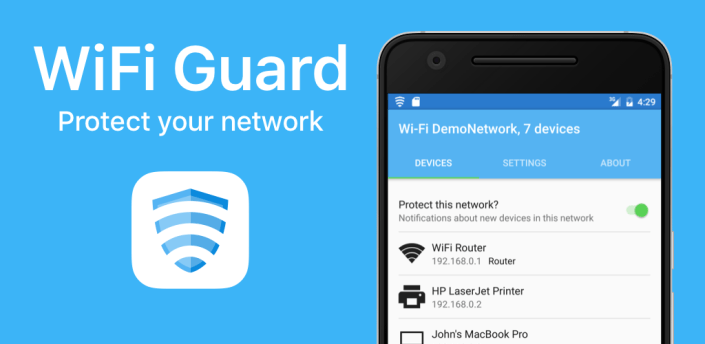 WiFi Guard - Protect your network apk