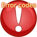 Error codes Icon