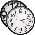 Bold Clockfaces for Battery Saving Analog Clocks Icon