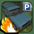 3D Jeep Car Parking Icon