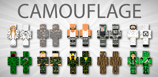 Camouflage Skins For Minecraft PE apk