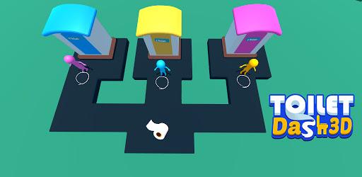 Toilet Dash 3D apk