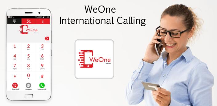 WeOne - International Calling apk