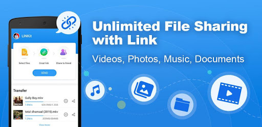 LINKit - Unlimited File Sharing with Link apk