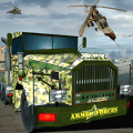 Army War Truck Driver Icon