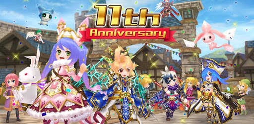 RPG Elemental Knights R (MMO) apk