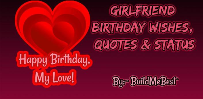 Birthday wishes for Girlfriend, Quotes & Greeting apk
