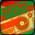 Retro music 80s 90s music Icon